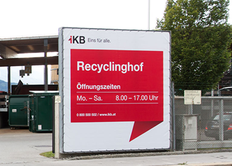 Recyclinghof Innsbruck